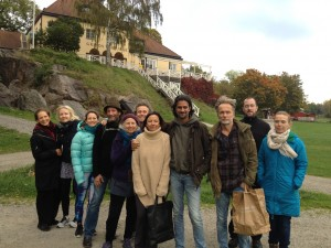 Explorations of Wisdom at Work with dear colleagues on the Isle of Grinda, Sweden